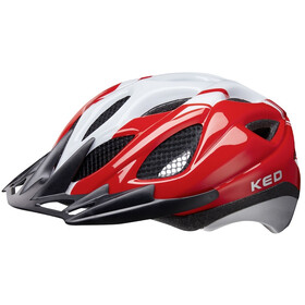 KED Tronus Casque, red/pearl